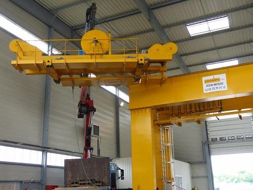 Portique 2×2 tonnes